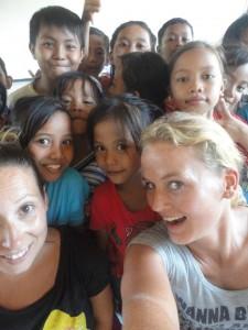 Leonie Dil - teaching in Bali