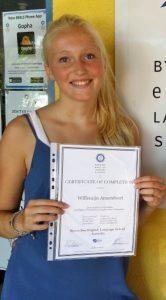 Willemijn Amersfoort - CPE-diploma